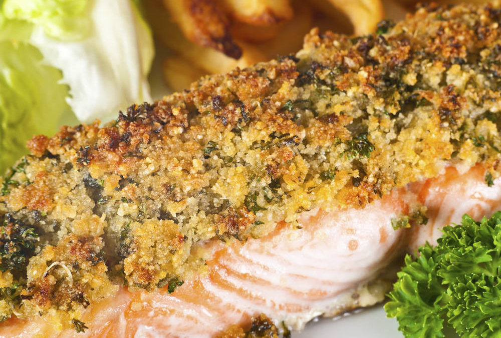 Spicy Crusted Salmon