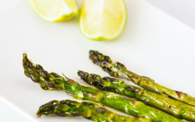 Roasted Lime Asparagus
