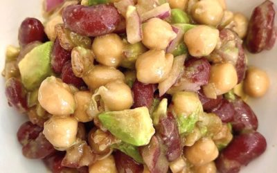 Bean Salad with Balsamic Dressing