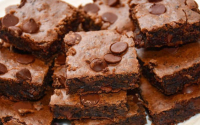 Deliciously decadent protein packed brownies