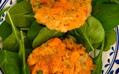 Sweet Potato And Chickpea Veggie Burgers