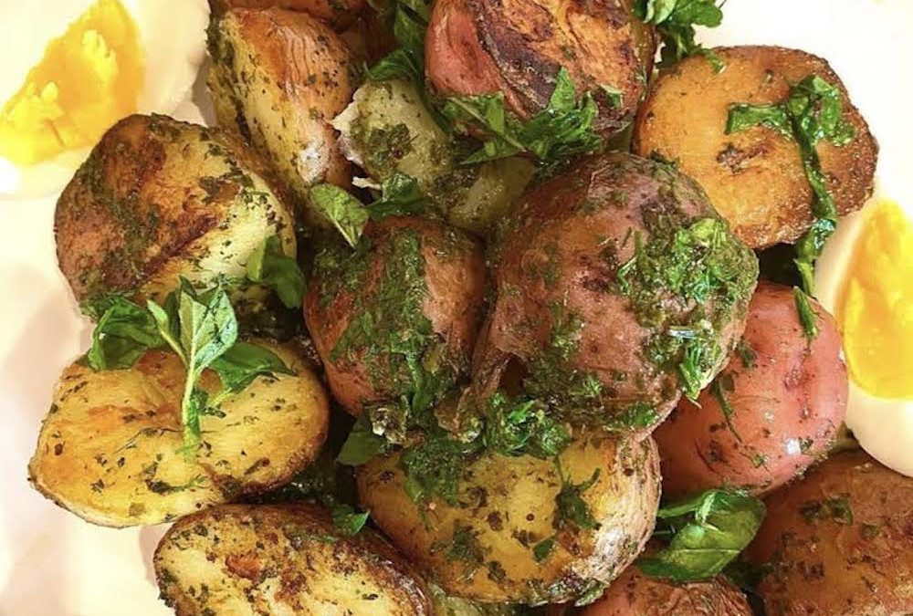 Pesto Perfect Potatoes
