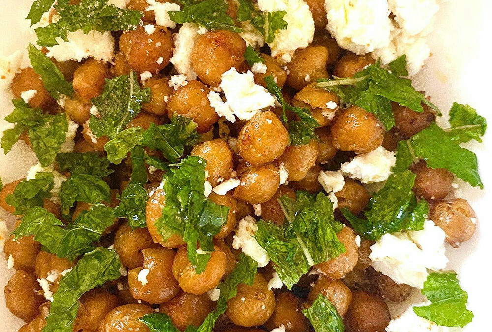 Roasted Chickpea and Feta – Snack